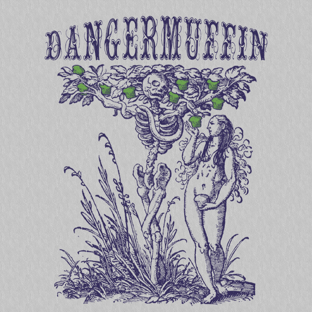 DANGERMUFFIN GARDEN OF EDEN TEE ARTWORK