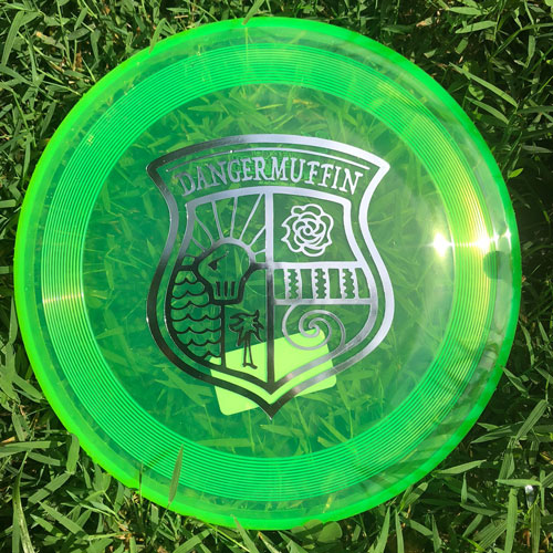 DANGERMUFFIN-SUPERHERO-DISC-GREEN